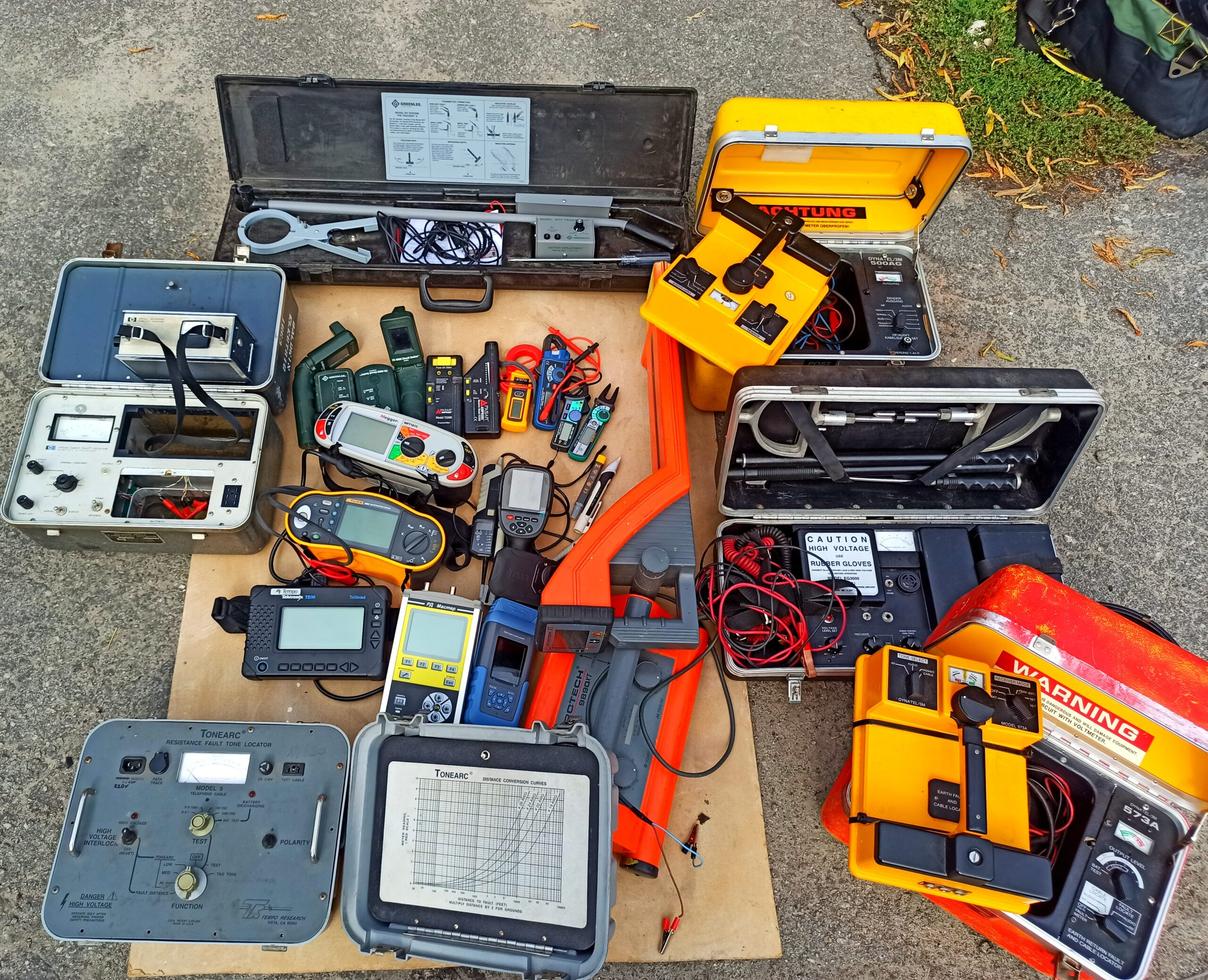 Инструмент поиск обрыва электропроводки