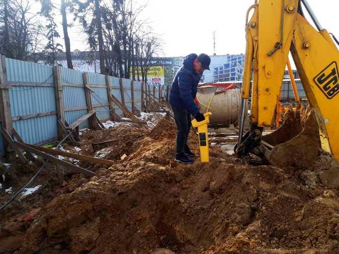 Поиск повреждения кабеля Киев